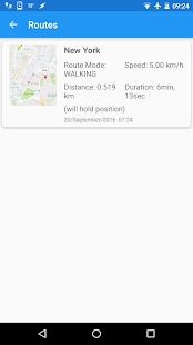 Fake GPS Joystick & Routes Go apk screenshot 6