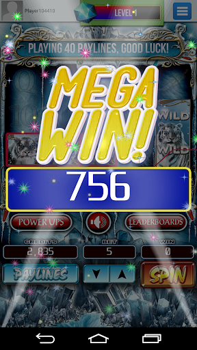 Siberian Tiger | Slot Machine 2.9.9 screenshots 2