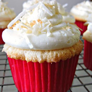 Double Coconut Cupcakes