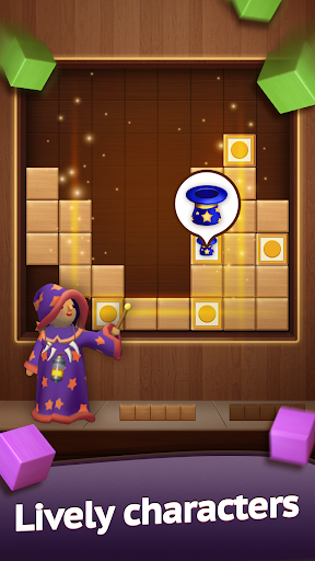 Hello Block - Wood Block Puzzle android2mod screenshots 4
