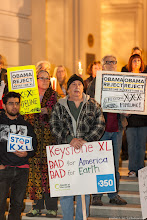 Photo: Keystone XL Pipeline Protest in Pasadena, California (2014-02-03) #NoKXL  Nationwide Vigils to Protest Keystone XL (https://actionnetwork.org/event_campaigns/kxl-fseis)  Photograph by Jonathan H. Lee www.subtledream.com