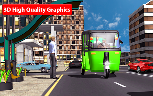 Rickshaw Driving Simulator - Drive New Games screenshots 13