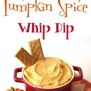Pumpkin Spice Whip Dip.