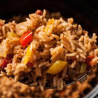 Slow Cooker Spanish Rice.