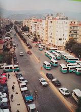 Photo: Bahriye Üçok Bulvarı  Dolmuşların Hükümet binasının önünden kalktığı yıllar...