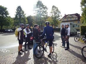 Photo: Treffpunkt zur Tour mit Hüttenfest