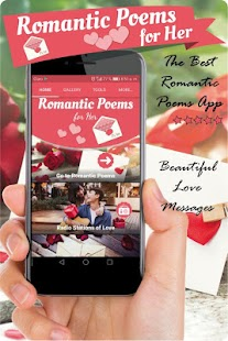 Romantic poems for her, love and romantic messages - náhled