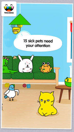 Toca Pet Doctor - screenshot