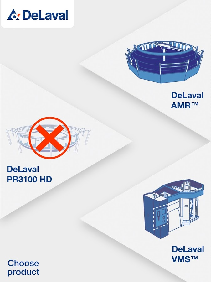 DeLaval VR- screenshot