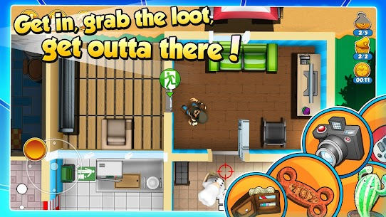 Robbery Bob 2: Double Trouble 1.6.8.10 MOD APK (Unlimited Money) 3