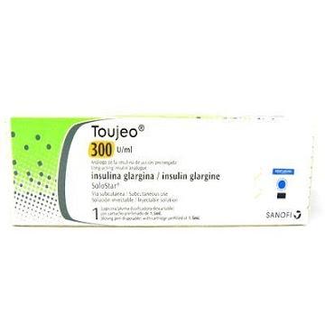 TOUJEO 300U/ML SOLUCIÓN