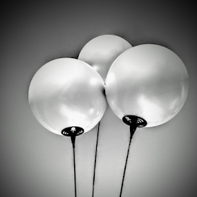Outdoor by Carlo McCoy - Instagram & Mobile Android ( new, 3d, balloons, real image, black and white, black& white photography,  )