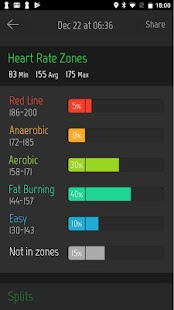Running Distance Tracker + Screenshot