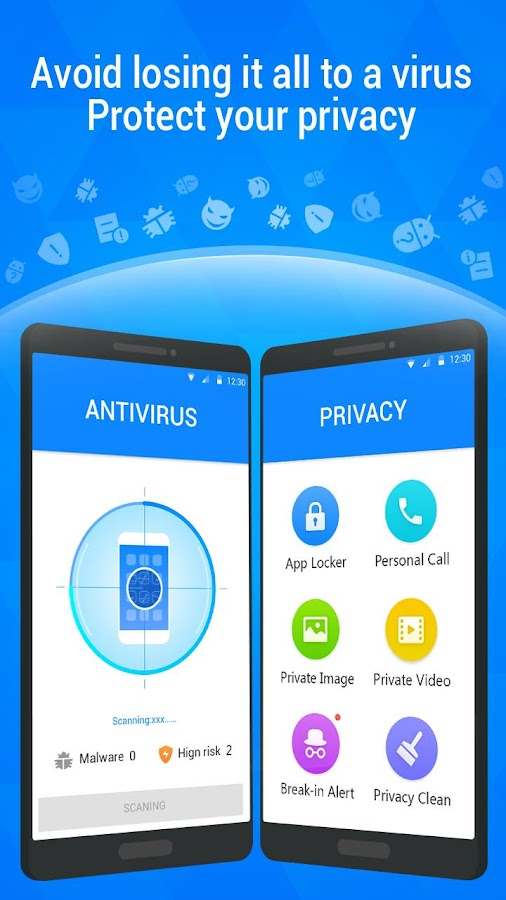Screenshots of DU Antivirus Security - Applock & Privacy Guard for iPhone