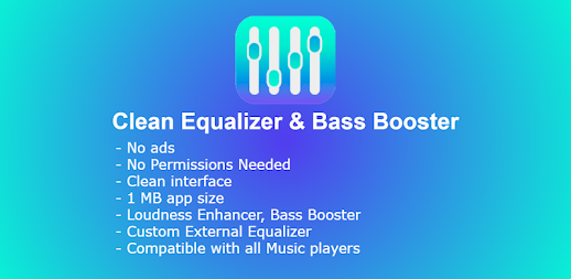 Clean Equalizer & Bass Booster Pro For headphones APK