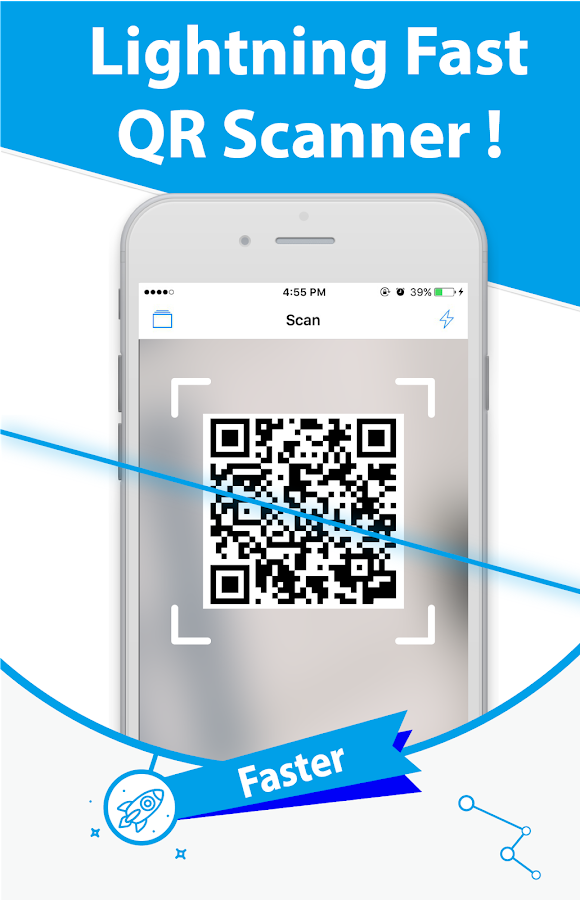 Free QR Scanner: Bar code reader & QR Scanner- screenshot