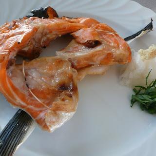 Sake Kama (Salmon Collar) & Ponzu.