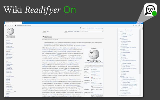 Wiki Readifyer