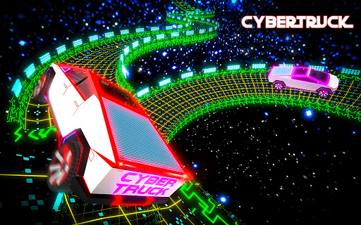 Cybertruck Sky Stunts: Celestial Tracks  captures d'u00e9cran 2