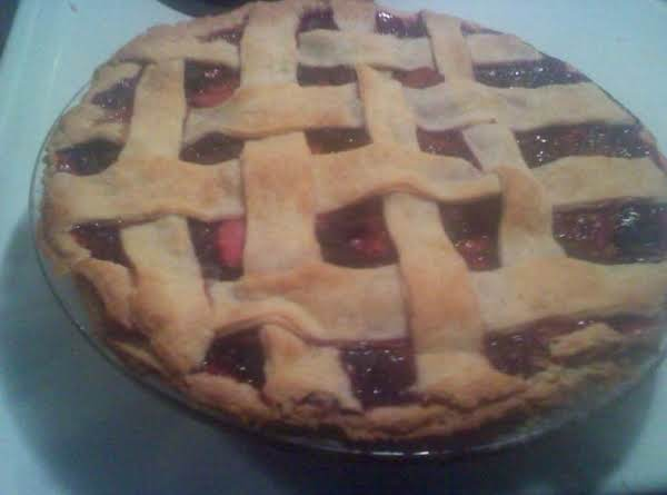 Tri-berry Pie Recipe