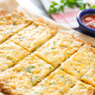 Cauliflower Breadsticks.