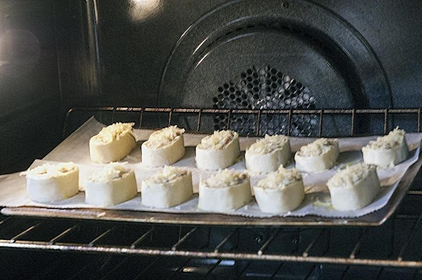 Place in the preheated oven, and bake for 20 minutes, or until golden brown.