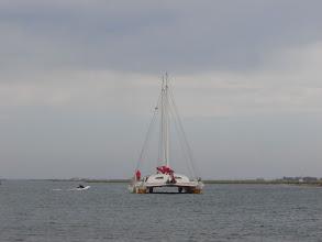Photo: First sail