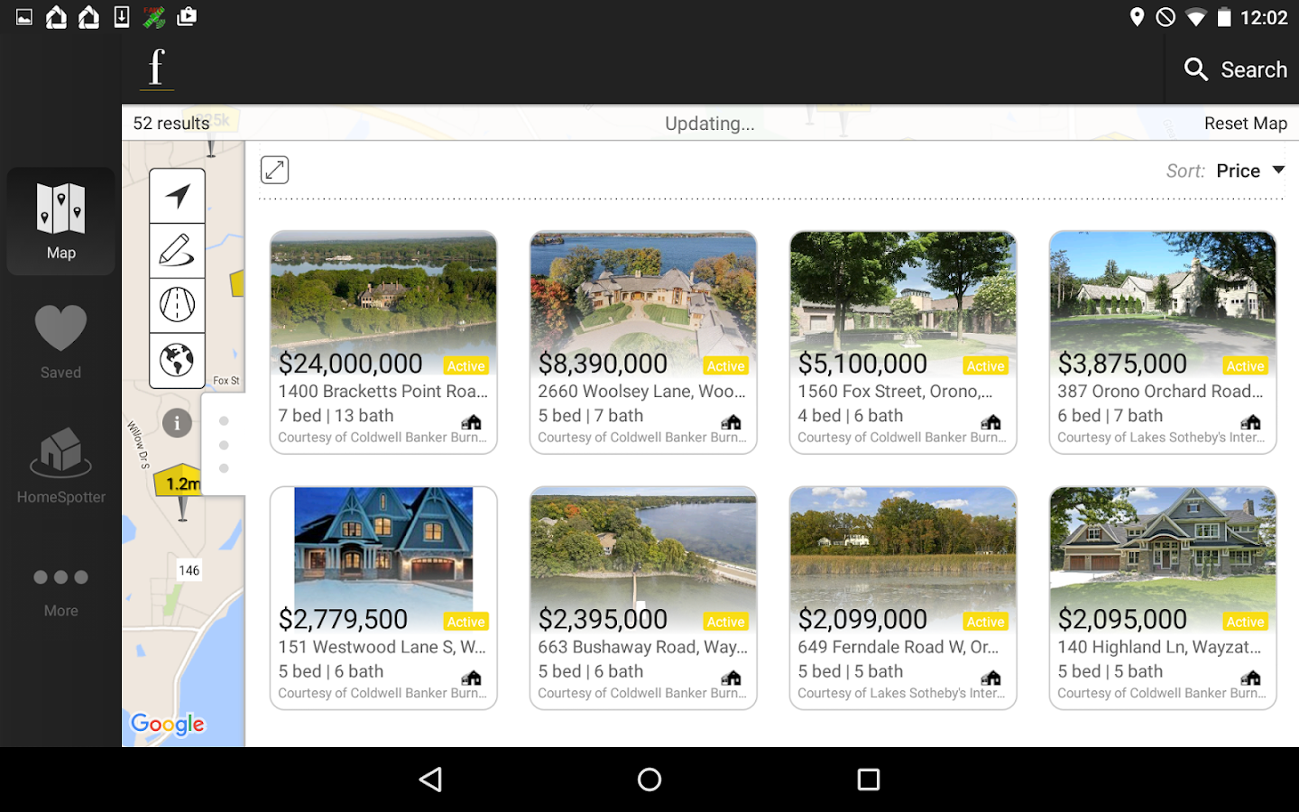 Fazhomes.com Home Search- screenshot