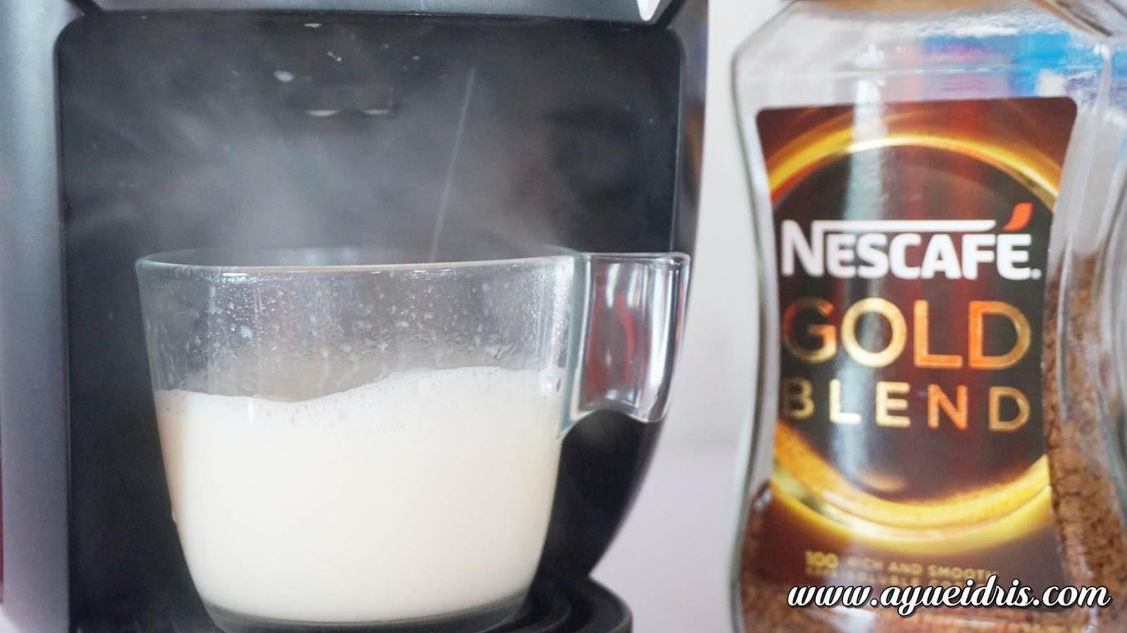 Nescafe Gold Barista Coffee Machine cara guna harga (31).JPG
