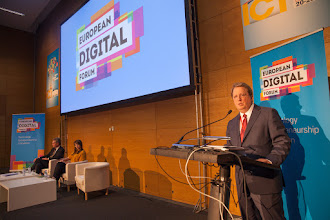Photo: Paul Hofheinz, director of the European Digital Forum