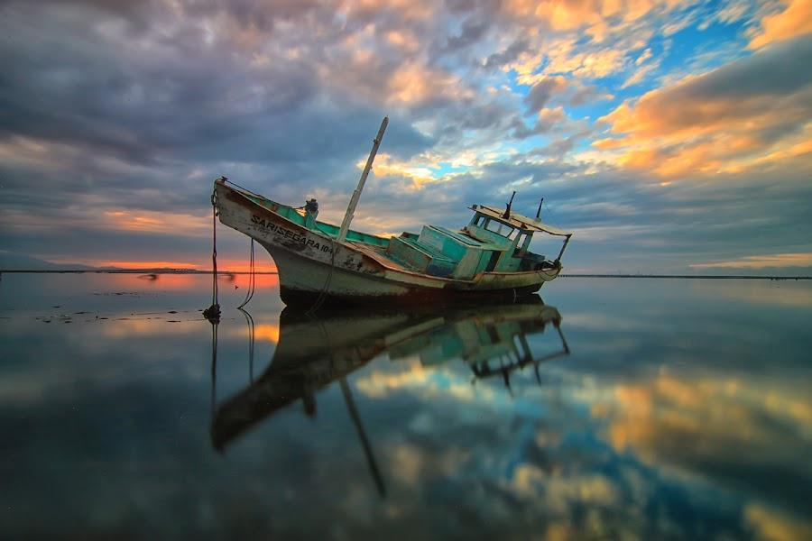 sari segara by Cahya Wisantika - Transportation Boats
