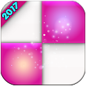 PINK PIANO Tiles valentens day icon
