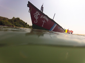 Photo: rasta boat