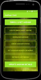 Aadhar Card Online Services - náhled