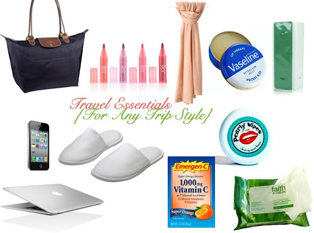 travel essentials for any trip style