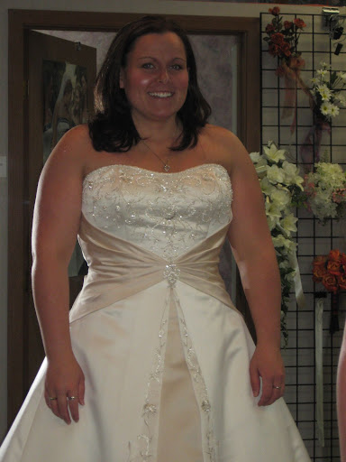 Hilary ; Plus Size Figure Wedding Dress, Bridal Gown