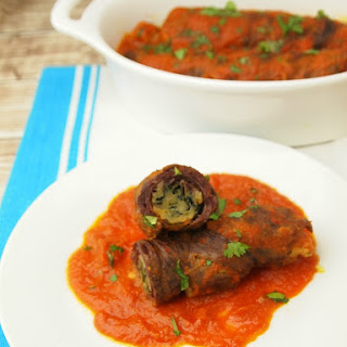 Kosher Braciole Rolled Steak