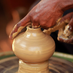 Potting it to Shape! by Balaji Mohanam - Artistic Objects Other Objects