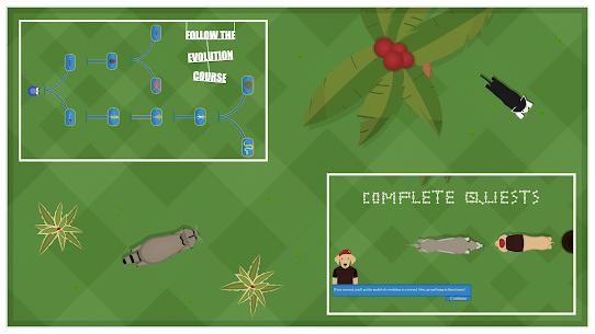 Spore Evolution : Evolve/mutate a hybrid cell 4