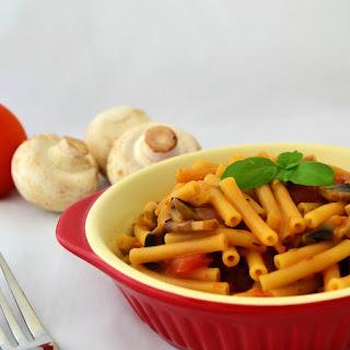 One-Pot Vegan Stroganoff Pasta