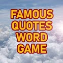 Famous Quotes Trivia Word Game icon