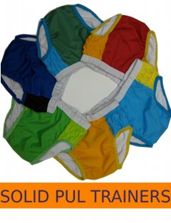 Solid PUL Trainers