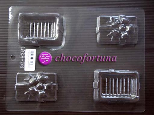 cetakan cokelat coklat kado pour box 90-5301