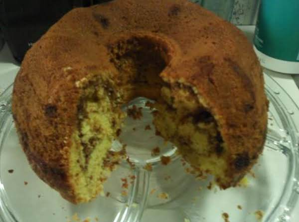 Cinnamon Pound Cake Recipe