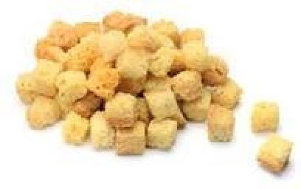 Microwave Croutons Recipe
