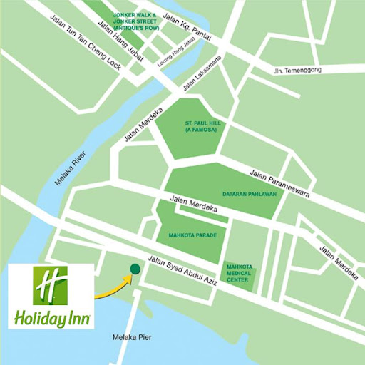 Image result for holiday inn melaka