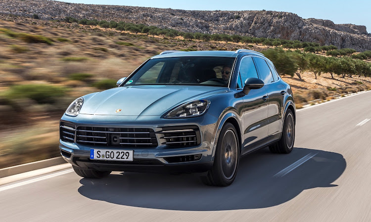 The new Porsche Cayenne will arrive in about mid-year