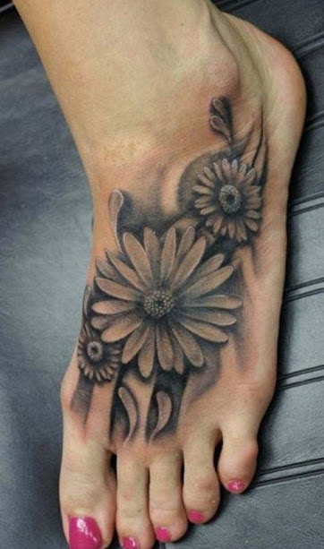 7f0dc8721d72b 50 Best Daisy Tattoos Designs And Ideas With Meanings