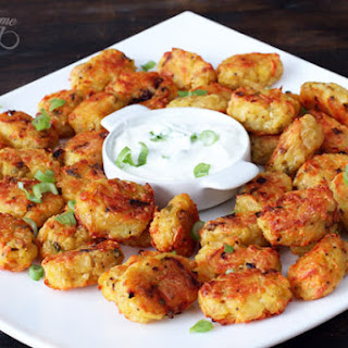 Roasted Potato and Cheese Tater Tots.