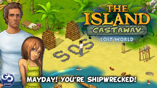 The Island Castaway: Lost World® - screenshot